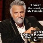 I read random